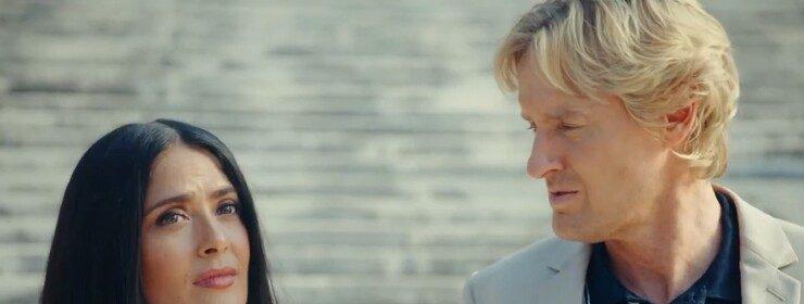 Трейлер фантастики «Блаженство» — Сальма Хайек искушает Оуэна Уилсона новым миром